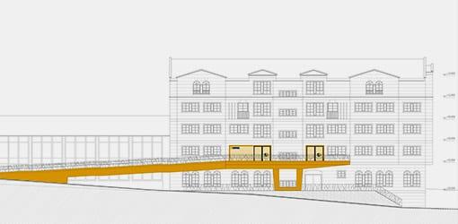 SUPERA - Planos fachada Centro Sur